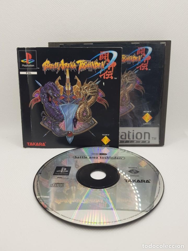 Videojuegos y Consolas: battle arena toshiden ps1 completo pal españa - Foto 4 - 242224575