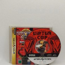 Videojuegos y Consolas: VIRTUA COP SEGA SATURN NTSC-J. Lote 242224970