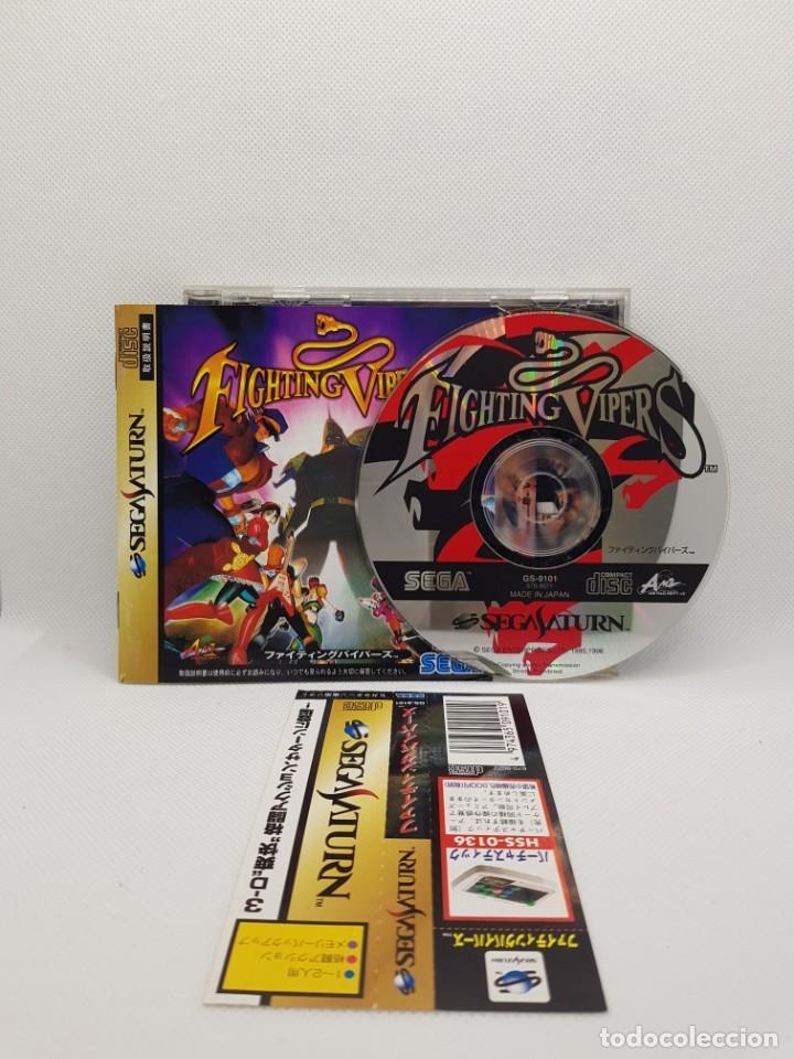 Videojuegos y Consolas: Fighting Vipers Sega Saturn NTSC-J - Foto 2 - 245634040