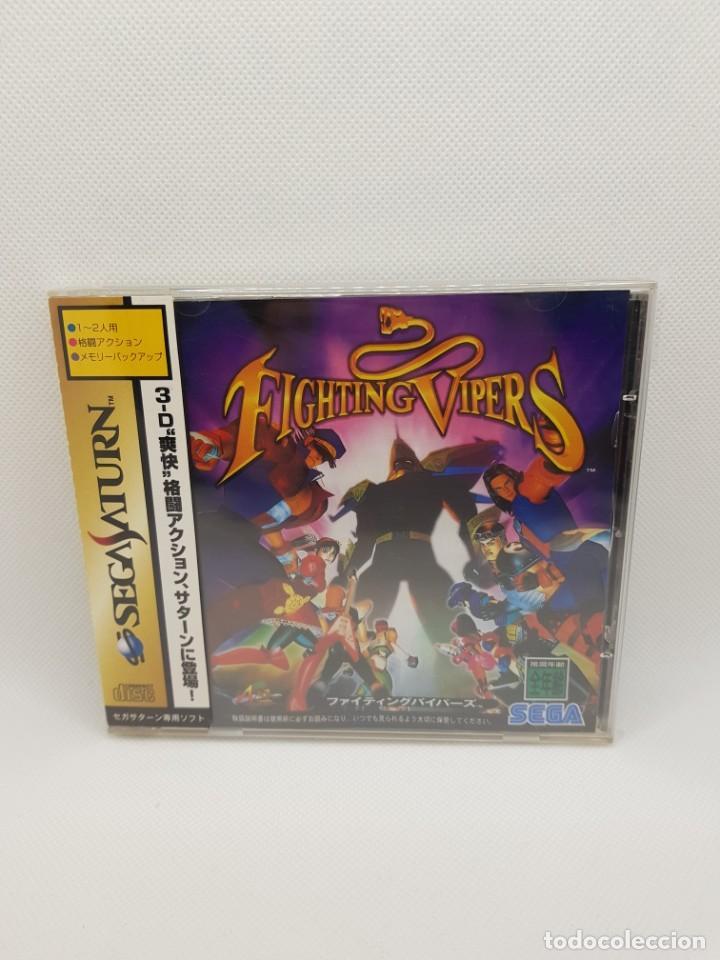 Videojuegos y Consolas: Fighting Vipers Sega Saturn NTSC-J - Foto 3 - 245634040