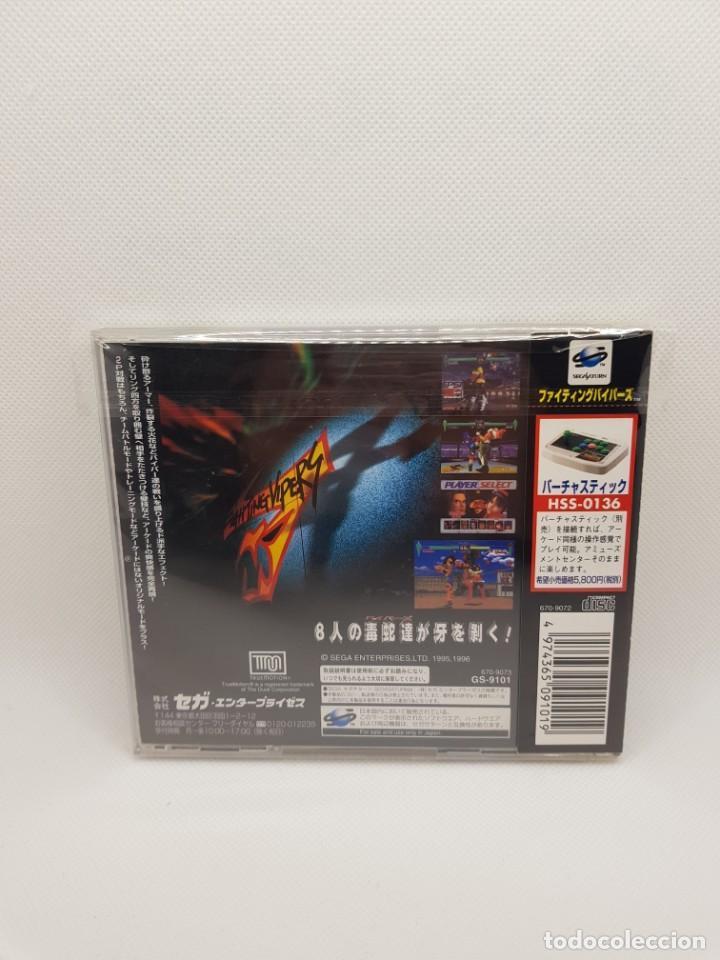 Videojuegos y Consolas: Fighting Vipers Sega Saturn NTSC-J - Foto 4 - 245634040