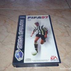 Videojuegos y Consolas: SOLO CAJA SEGA SATURN FIFA 97. Lote 248112835