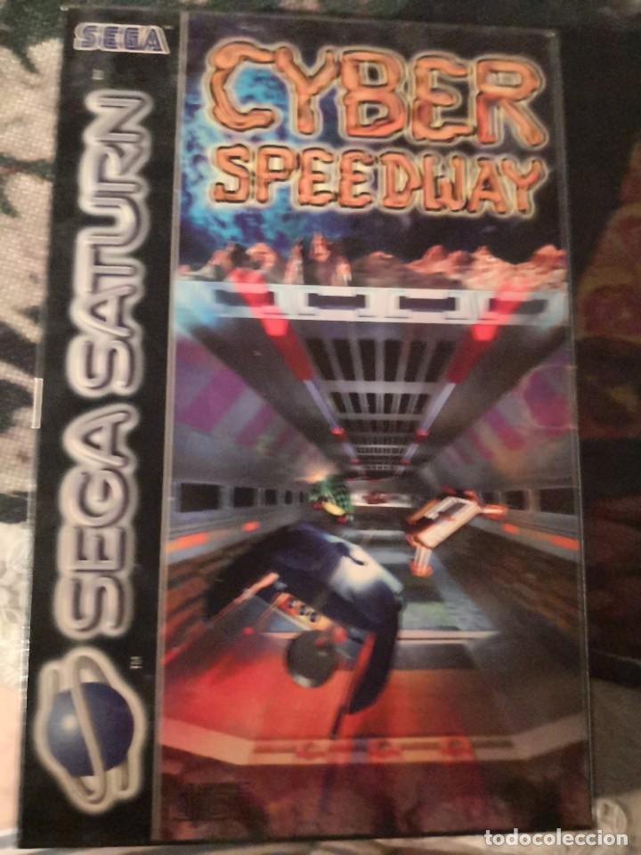 CAJA JUEGO CYNER SPEEDWAY DE SEGA SATURN (Juguetes - Videojuegos y Consolas - Sega - Saturn)