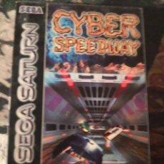Videojuegos y Consolas: CAJA JUEGO CYNER SPEEDWAY DE SEGA SATURN. Lote 251483855