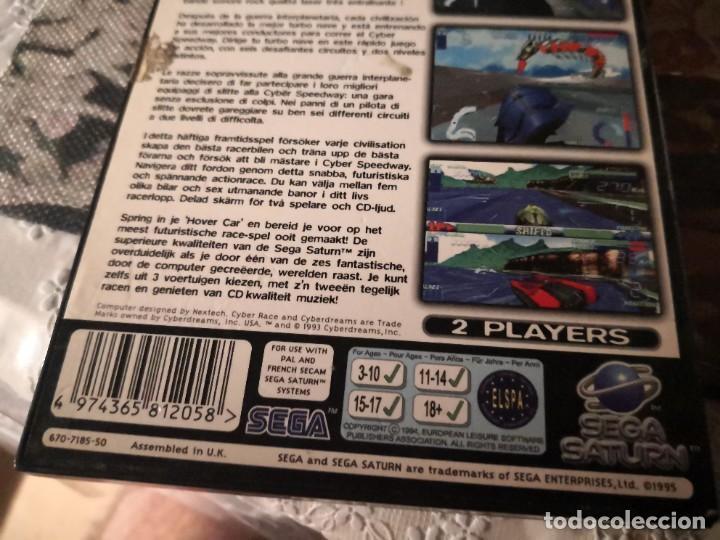 Videojuegos y Consolas: Caja juego CYNER SPEEDWAY DE SEGA SATURN - Foto 4 - 251483855
