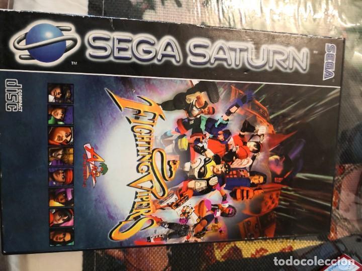 Videojuegos y Consolas: Caratula y manual de instrucciónes juego Sega saturn fighting vipers - Foto 3 - 251509340