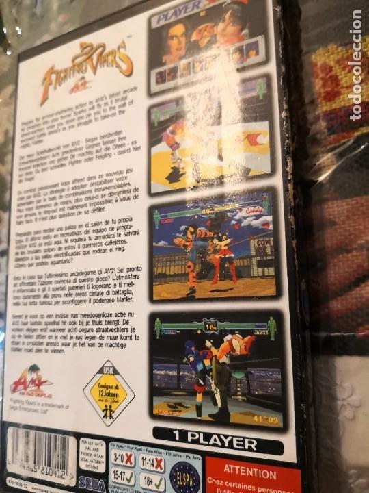 Videojuegos y Consolas: Caratula y manual de instrucciónes juego Sega saturn fighting vipers - Foto 4 - 251509340