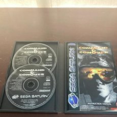 Videojuegos y Consolas: COMMAND AND CONQUER SEGA SATURN. Lote 254513615