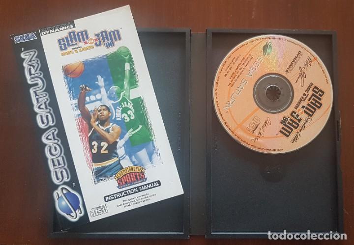 Videojuegos y Consolas: SEGA SATURN SLAM AND JAM 86 - Foto 2 - 263718860