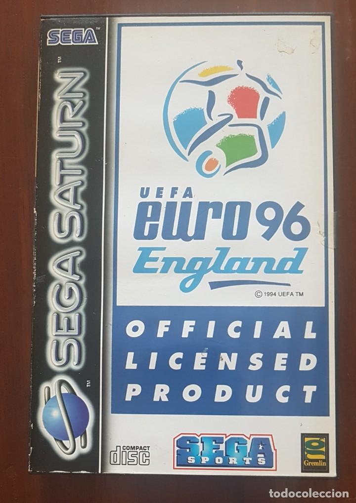 SEGA SATURN UEFA EURO 96 ENGLAND (Juguetes - Videojuegos y Consolas - Sega - Saturn)