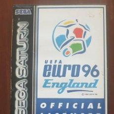 Videojuegos y Consolas: SEGA SATURN UEFA EURO 96 ENGLAND. Lote 263722605