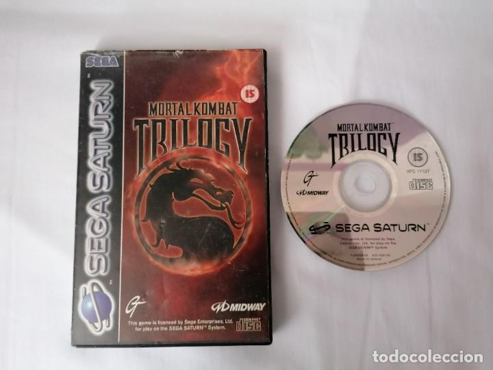 SEGA SATURN MORTAL KOMBAT TRILOGY (Juguetes - Videojuegos y Consolas - Sega - Saturn)