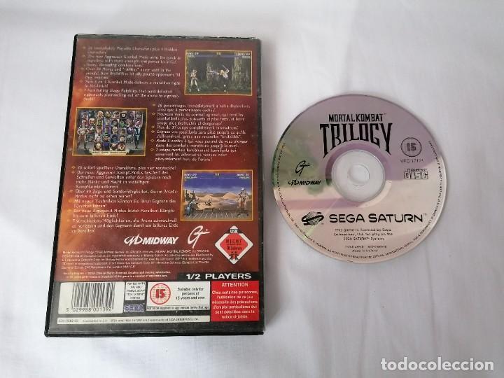 Videojuegos y Consolas: Sega Saturn Mortal Kombat Trilogy - Foto 2 - 268899104