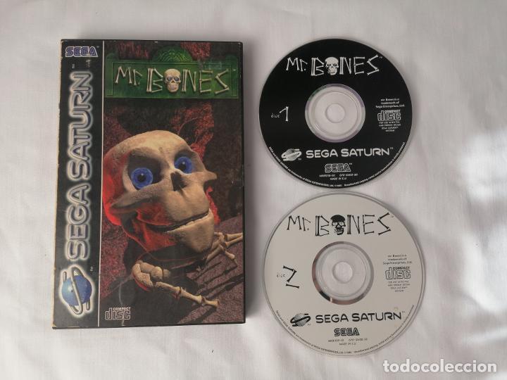 SEGA SATURN MR BONES (Juguetes - Videojuegos y Consolas - Sega - Saturn)
