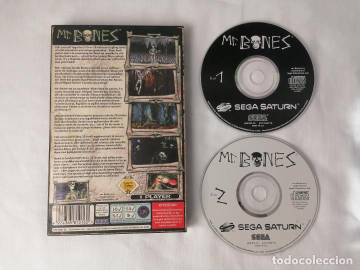 Videojuegos y Consolas: Sega Saturn Mr Bones - Foto 2 - 268899164