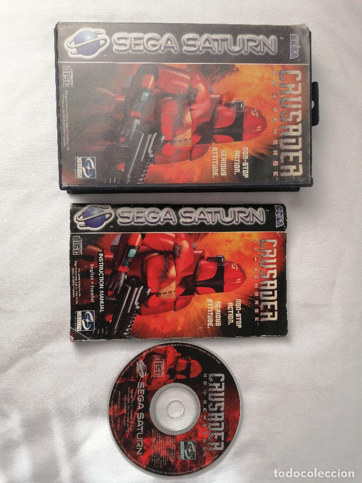 SEGA SATURN CRUSADER (Juguetes - Videojuegos y Consolas - Sega - Saturn)
