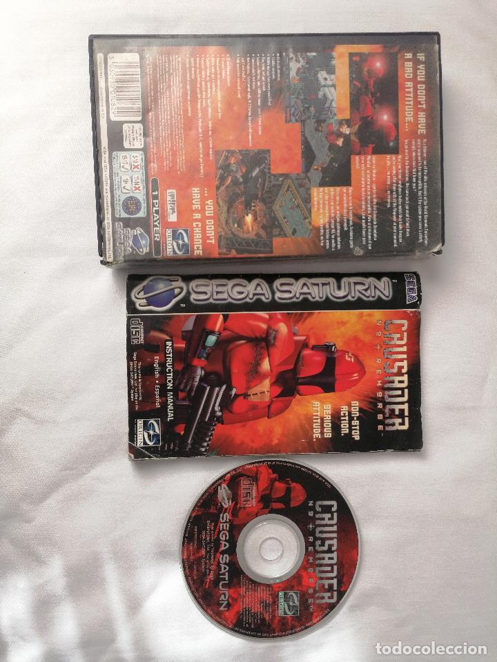 Videojuegos y Consolas: Sega Saturn Crusader - Foto 2 - 268899274