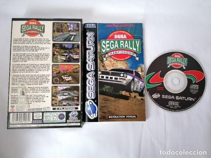 Videojuegos y Consolas: Sega Saturn Sega Rally - Foto 2 - 268899579