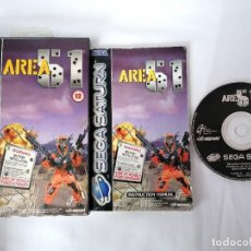 Videojuegos y Consolas: SEGA SATURN AREA 51. Lote 268899629