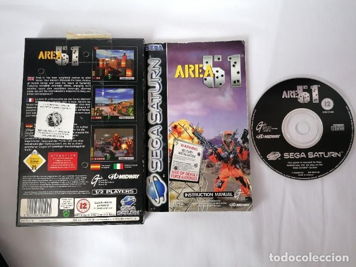 Videojuegos y Consolas: Sega Saturn Area 51 - Foto 2 - 268899629