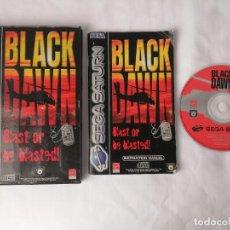 Videojuegos y Consolas: SEGA SATURN BLACK DAWN. Lote 268899914