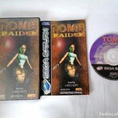 Videojuegos y Consolas: SEGA SATURN TOMB RAIDER. Lote 268949209