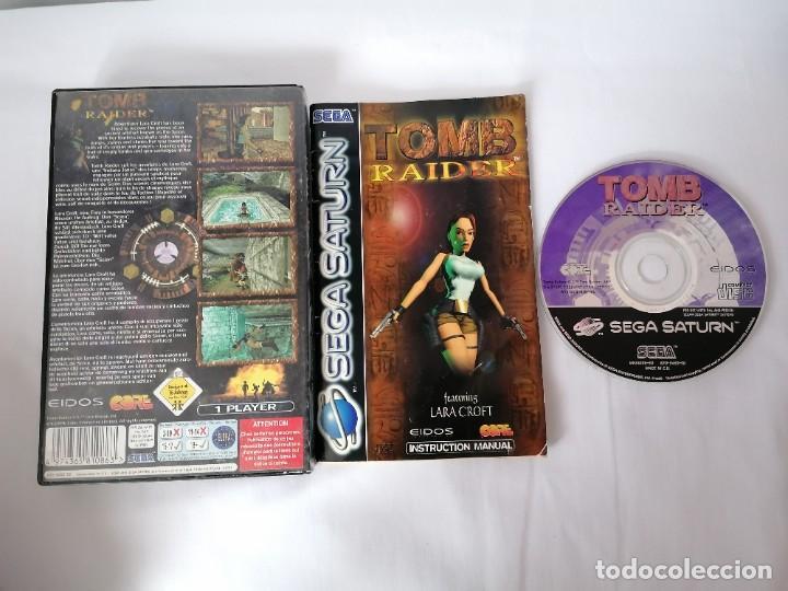 Videojuegos y Consolas: Sega Saturn Tomb Raider - Foto 2 - 268949209