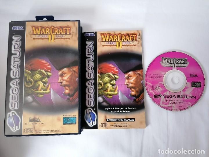 SEGA SATURN WARCRAFT II (Juguetes - Videojuegos y Consolas - Sega - Saturn)