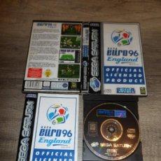 Videojuegos y Consolas: SEGA SATURN UEFA EURO 96 ENGLAND PAL ESP COMPLETO. Lote 272444868