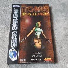 Videojuegos y Consolas: TOMB RAIDER SEGA SATURN. Lote 275147148