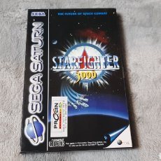 Videojuegos y Consolas: STARFIGHTER 3000 SEGA SATURN. Lote 275148193