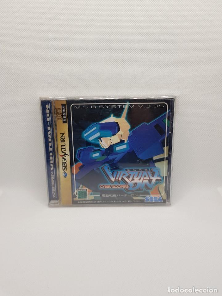 Videojuegos y Consolas: Dennou Senki Virtual-On Sega Saturn Japan Import - Foto 2 - 276595008