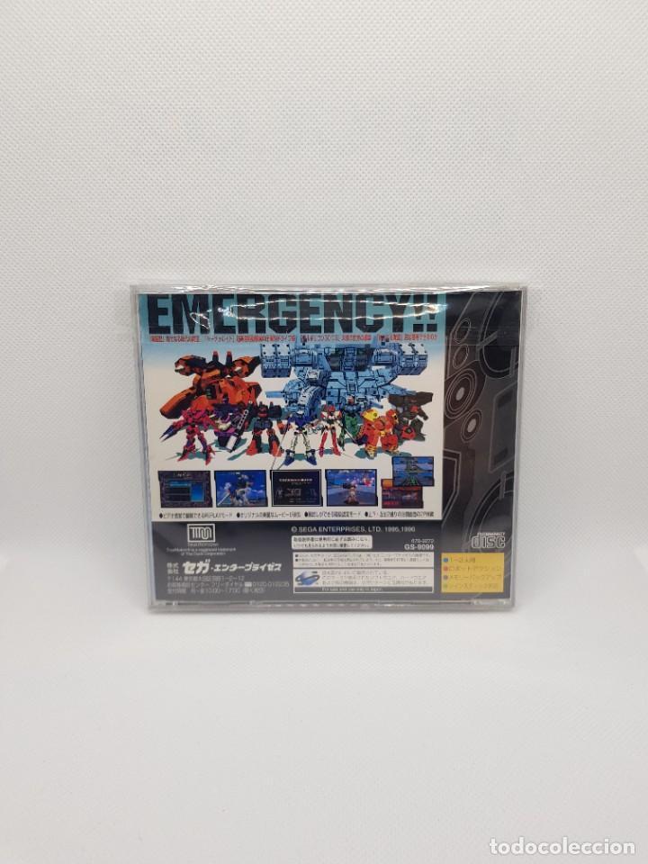 Videojuegos y Consolas: Dennou Senki Virtual-On Sega Saturn Japan Import - Foto 3 - 276595008