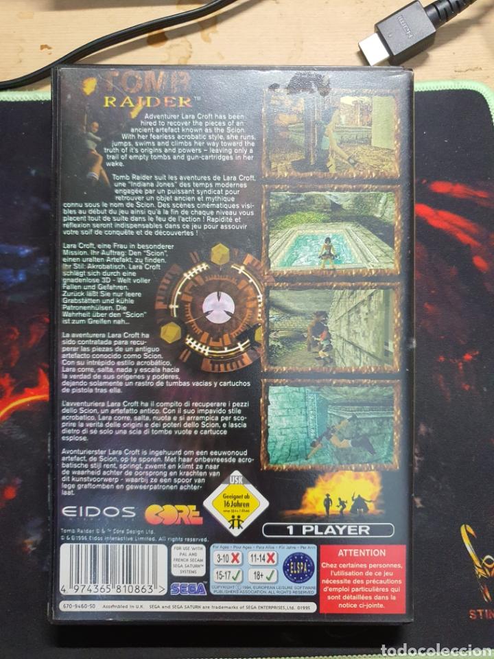 Videojuegos y Consolas: SEGA SATURN TOMB RAIDER - Foto 2 - 277192308