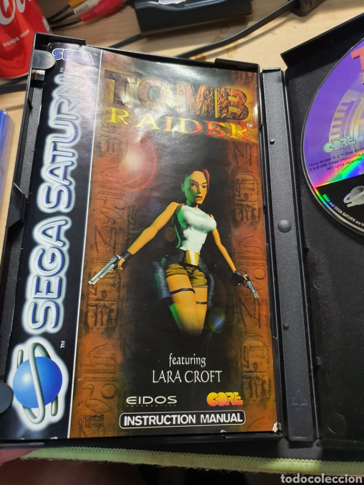 Videojuegos y Consolas: SEGA SATURN TOMB RAIDER - Foto 3 - 277192308