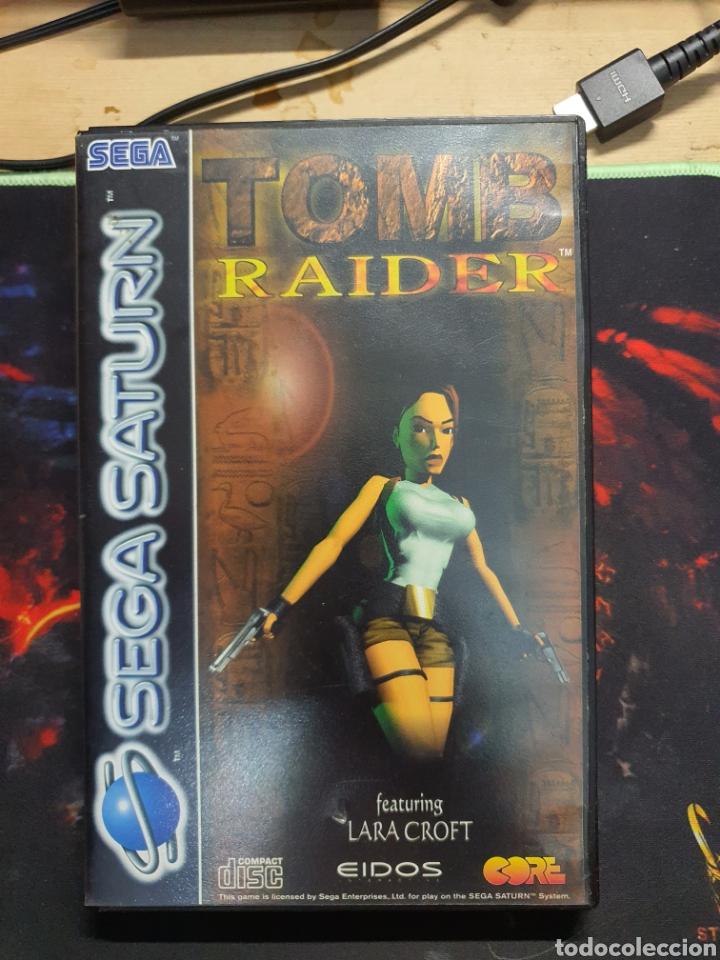 SEGA SATURN TOMB RAIDER (Juguetes - Videojuegos y Consolas - Sega - Saturn)