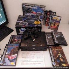 Videojuegos y Consolas: LOTE SEGA SATURN + MANDOS INALÁMBRICOS + JUEGOS. Lote 277522558