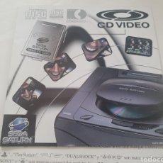 Videojuegos y Consolas: MANUALES SEGA SATURN. Lote 287592093