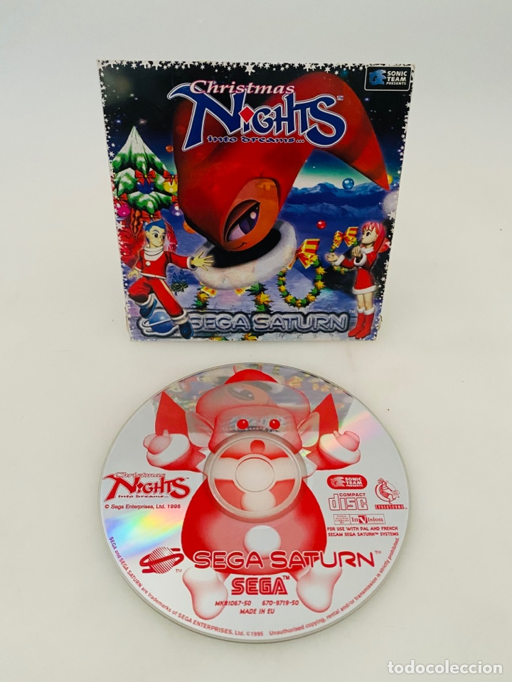 CHRISTMAS NIGHTS SEGA SATURN (Juguetes - Videojuegos y Consolas - Sega - Saturn)
