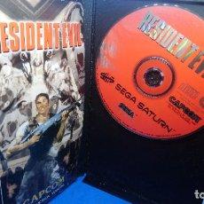 Videojuegos y Consolas: RESIDENT EVIL [CAPCOM] [1996] [SEGA SATURN] [EURO / PAL]. Lote 294507493