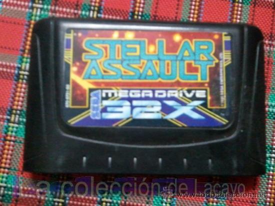 STELLAR ASSAULT SEGA MEGADRIVE 32X ESPAÑA PAL (Juguetes - Videojuegos y Consolas - Sega - Sega 32x)