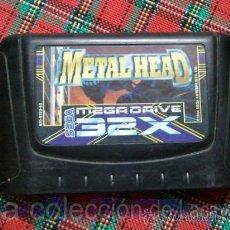 Videojuegos y Consolas: METAL HEAD SEGA MEGADRIVE 32X ESPAÑA PAL. Lote 28229195