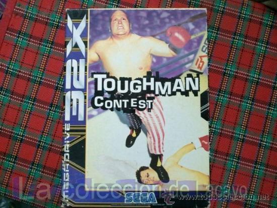 TOUGHMAN CONTEST 32X MEGADRIVE SEGA ESPAÑA PAL (Juguetes - Videojuegos y Consolas - Sega - Sega 32x)