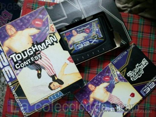 Videojuegos y Consolas: TOUGHMAN CONTEST 32X MEGADRIVE SEGA ESPAÑA PAL - Foto 2 - 28229227