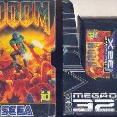 Videojuegos y Consolas: DOOM PARA SEGA 32X(FALTA MANUAL). Lote 30308606