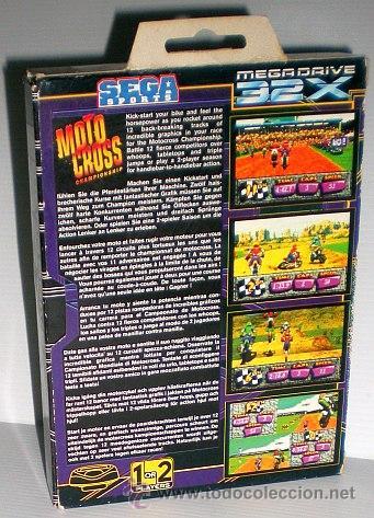 Videojuegos y Consolas: Motocross Championship [SEGA] [Artech Studios] 1994 [PAL] [SEGA 32x] - Foto 2 - 44963540