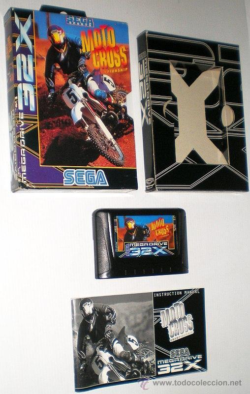 Videojuegos y Consolas: Motocross Championship [SEGA] [Artech Studios] 1994 [PAL] [SEGA 32x] - Foto 4 - 44963540