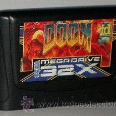 Videojuegos y Consolas: DOOM [SEGA] [ID SOFTWARE] 1994 [PAL] [SEGA 32X] - CARTUCHO -. Lote 44993017
