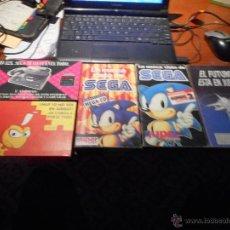Videojuegos y Consolas: LOTE CINTAS VHS SEGA NINTENDO. Lote 101027808