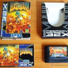 Videojuegos y Consolas: JUEGO MEGADRIVE 32X 'DOOM', VERSIÓN PAL ESPAÑA, COMPLETO.. Lote 50173642